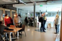 Een standje op de gemeentelijke informatiedag Olstergaard